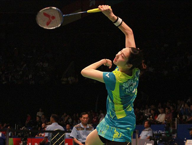 ( BCA Indonesia Open 2017 )Tim Korea Sung Ji Hyun,Chang Ye Na/ Lee So He Meraih tiket semifinal