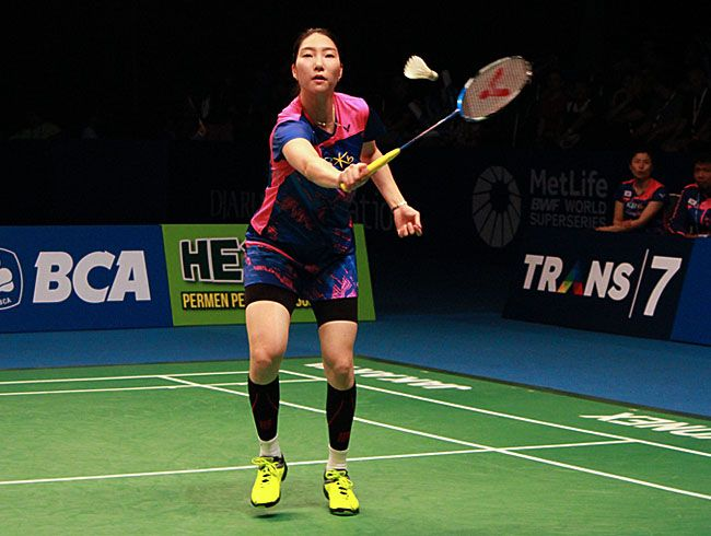 ( BCA Indonesia Open 2017 ) Sung ji Hyun Tembus Final