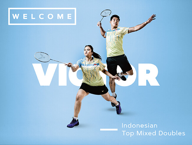 Welcome Indonesian Top Mixed Doubles Jordan/Oktavianti!