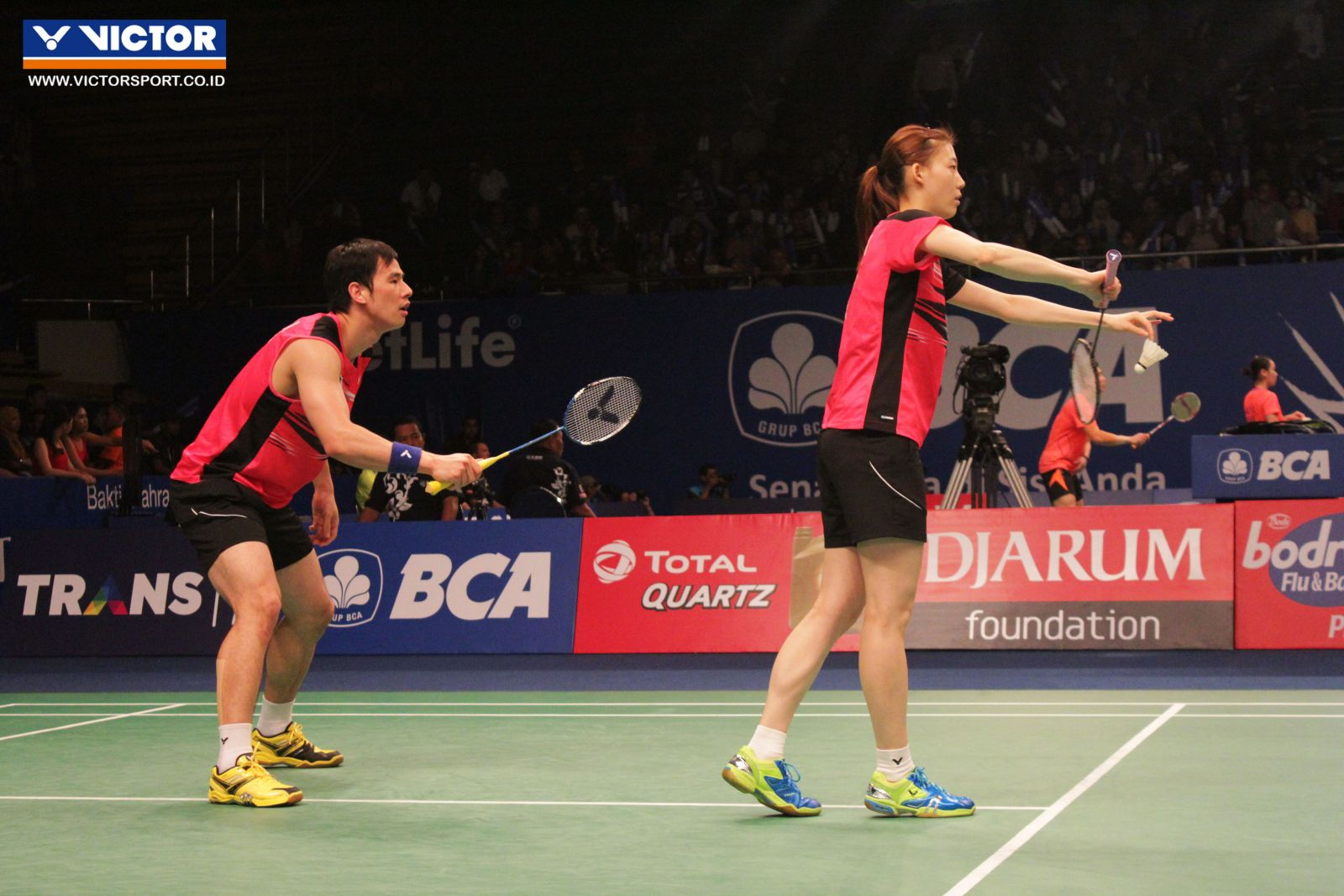 Indonesia Open 2015 Ko Sung Hyun dan Kim Ha Na melaju ke babak