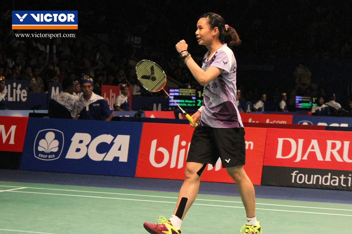 Indonesia Open Superseries Premier 2016 Tai Tzu Ying melaju ke