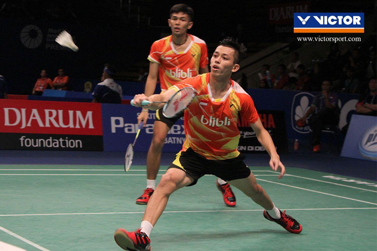 Fajar Alfian M Rian Ardianto melaju ke babak utama BCA INDONESIA